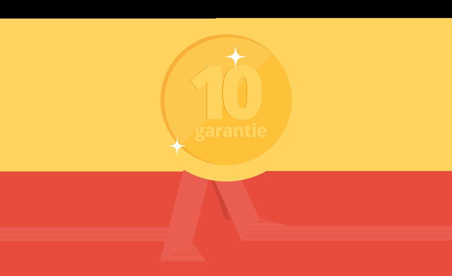 icoon 10 jaar garantie