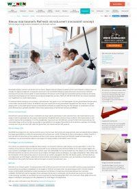 Nieuw matrasmerk Refresh introduceert innovatief concept