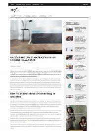 Gadget we love: Matras voor de schone slaapster