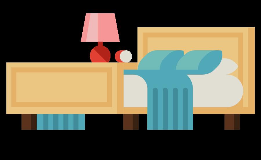icoon bed slaapkamer